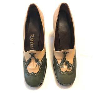 Vintage 1930/40's Wohl Jacqueline Wingtip Heels